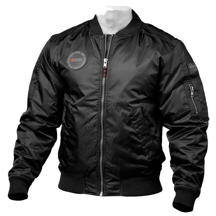 Better Bodies Graphic Jacket black