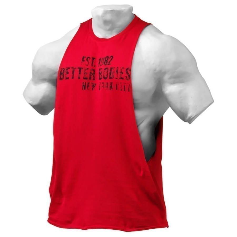 Better Bodies Graphic Logo Short Sleeve T-Shirt Jester Red XL Punainen