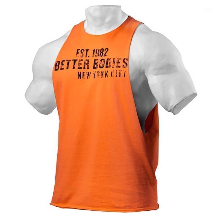 Better Bodies Graphic Logo Short Sleeve T-Shirt Orange XL Oranssi
