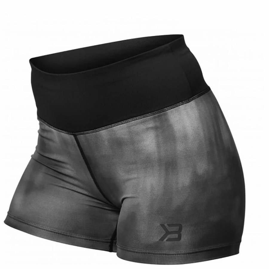 Better Bodies Grunge Shorts Steel Grey S Harmaa