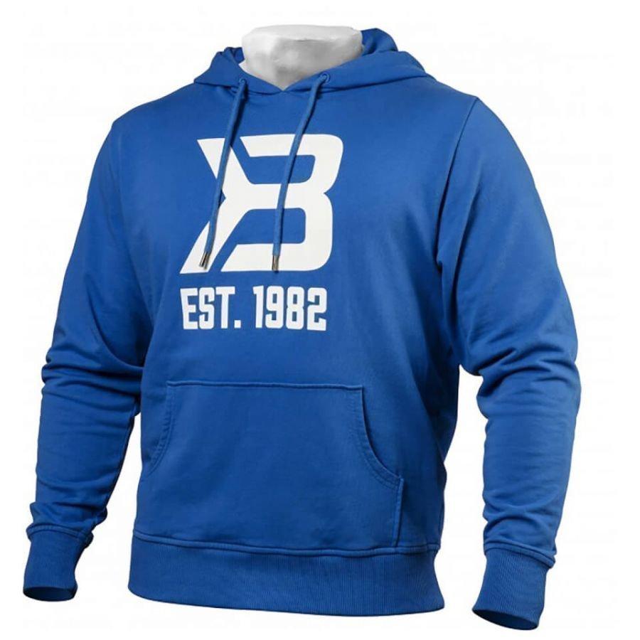 Better Bodies Gym Hoody Bright Blue L Sininen