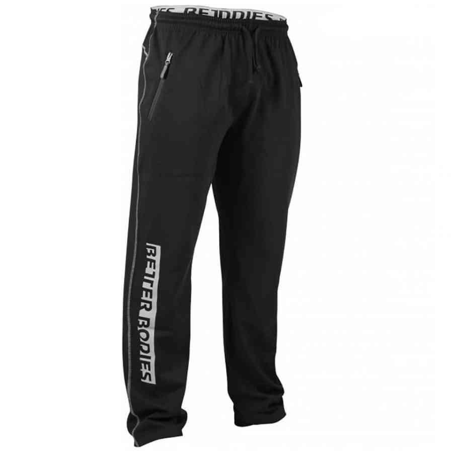 Better Bodies Gym Sweatpants Black S Musta