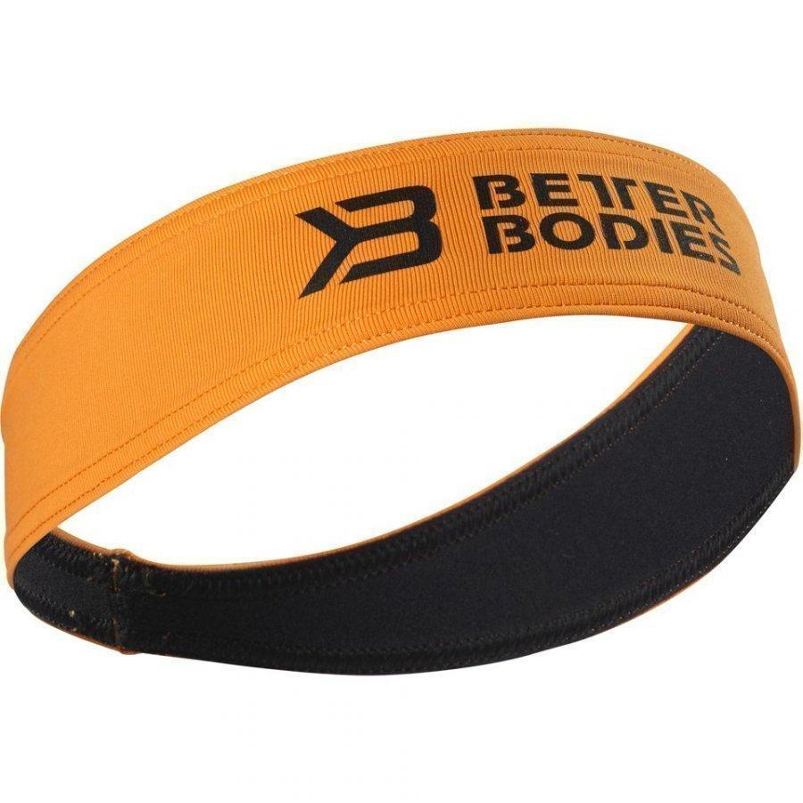 Better Bodies Hair Sweatband Bright Orange