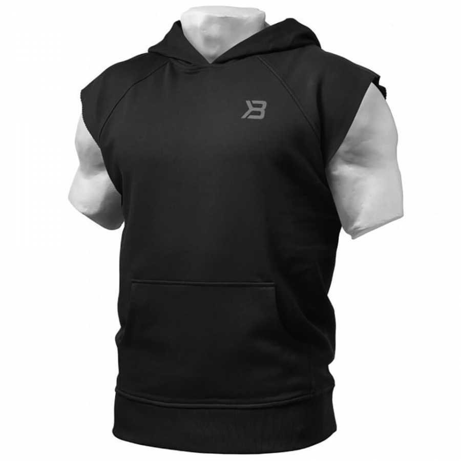 Better Bodies Hudson Short Sleeve Sweater Black XL Musta