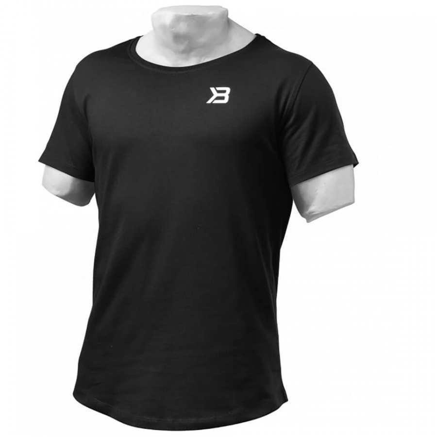 Better Bodies Hudson T-Shirt Black M Musta