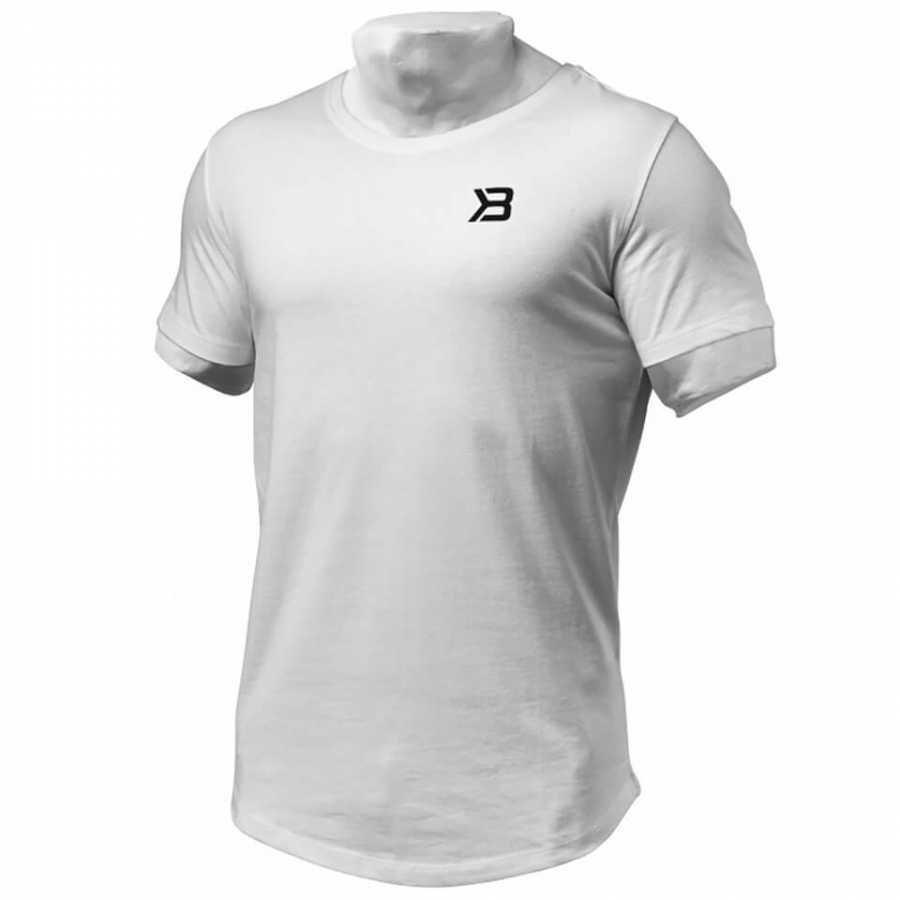Better Bodies Hudson T-Shirt White M Valkoinen