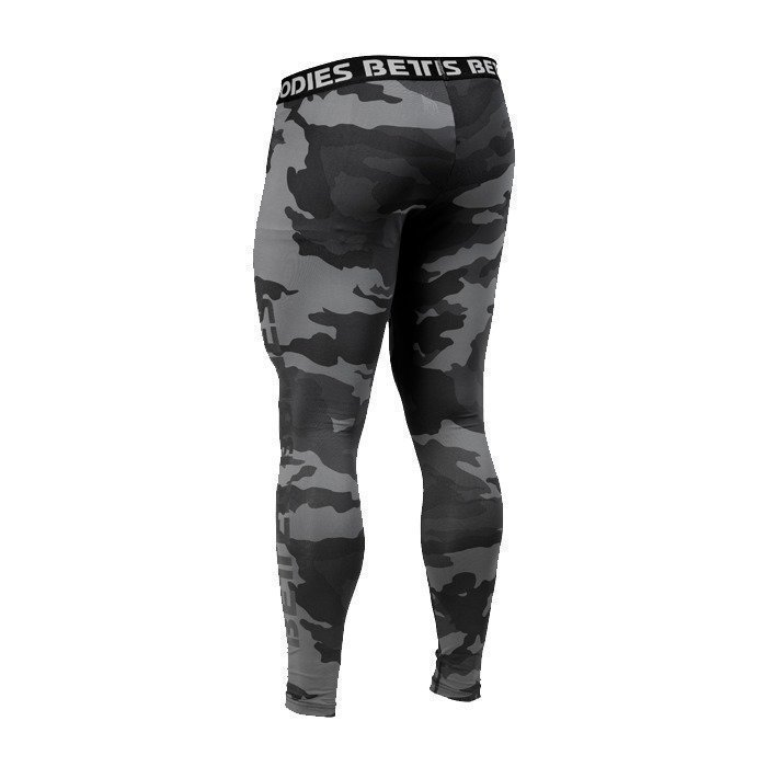 Better Bodies Hudson logo tights dark camo Small