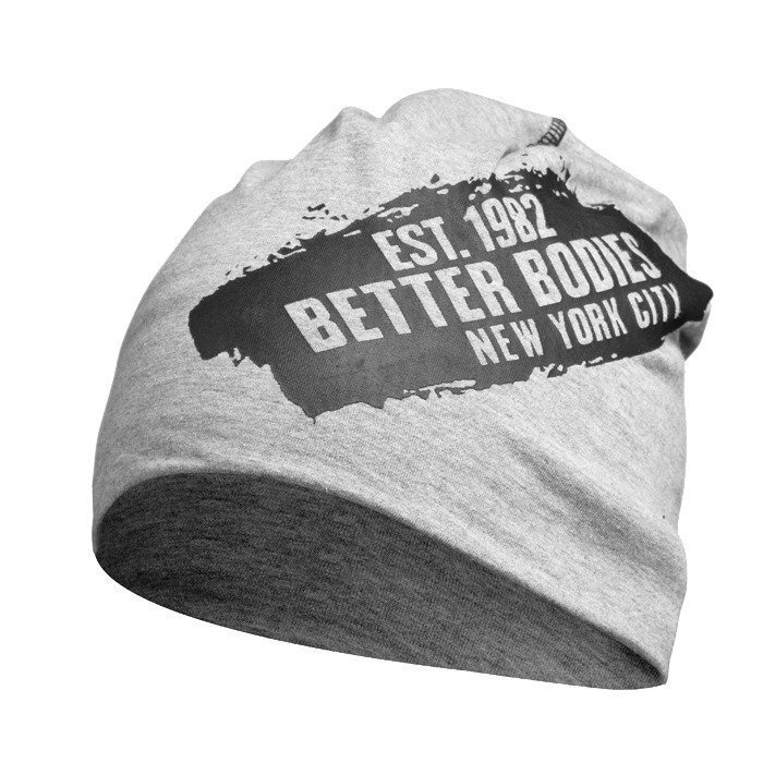 Better Bodies Jersey Beanie grey melange OS