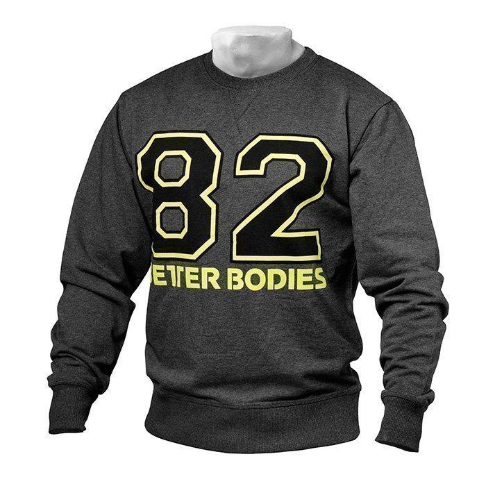 Better Bodies Jersey Sweatshirt antracite melange S