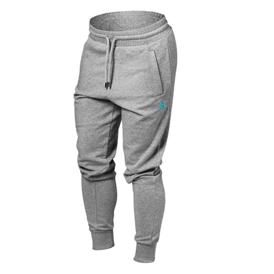 Better Bodies Jogger Sweatpants Grey Melange L Harmaa