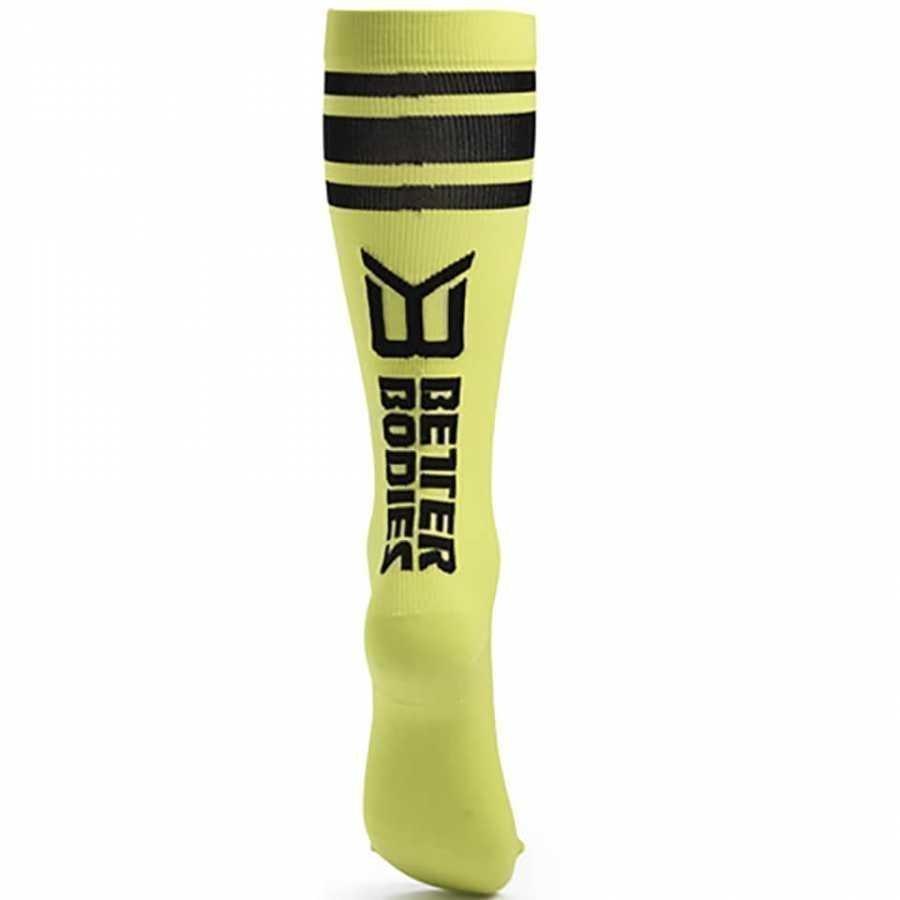 Better Bodies Knee Socks Lime M Vihreä