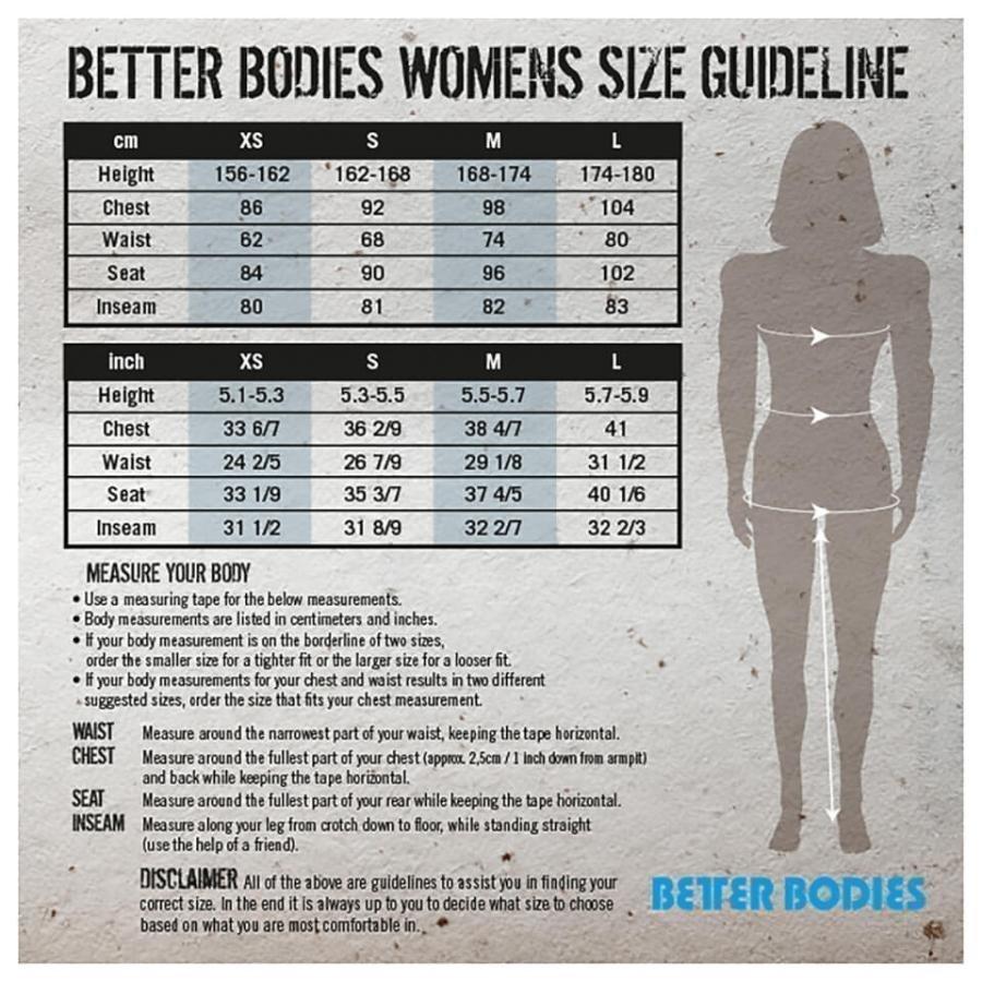 Better Bodies Loose Fit Tank Top Black L Musta