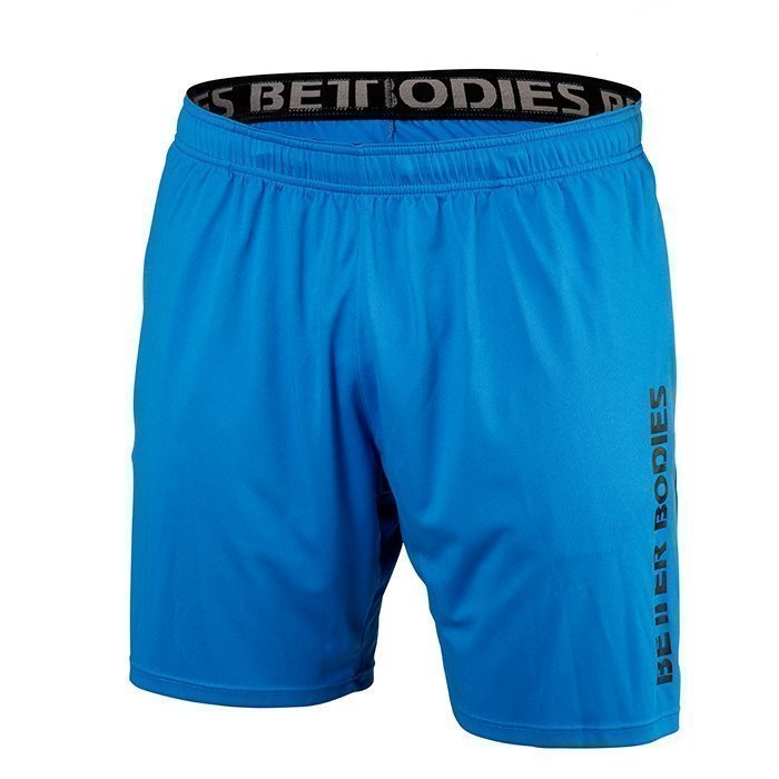 Better Bodies Loose Function Short Bright Blue X-large