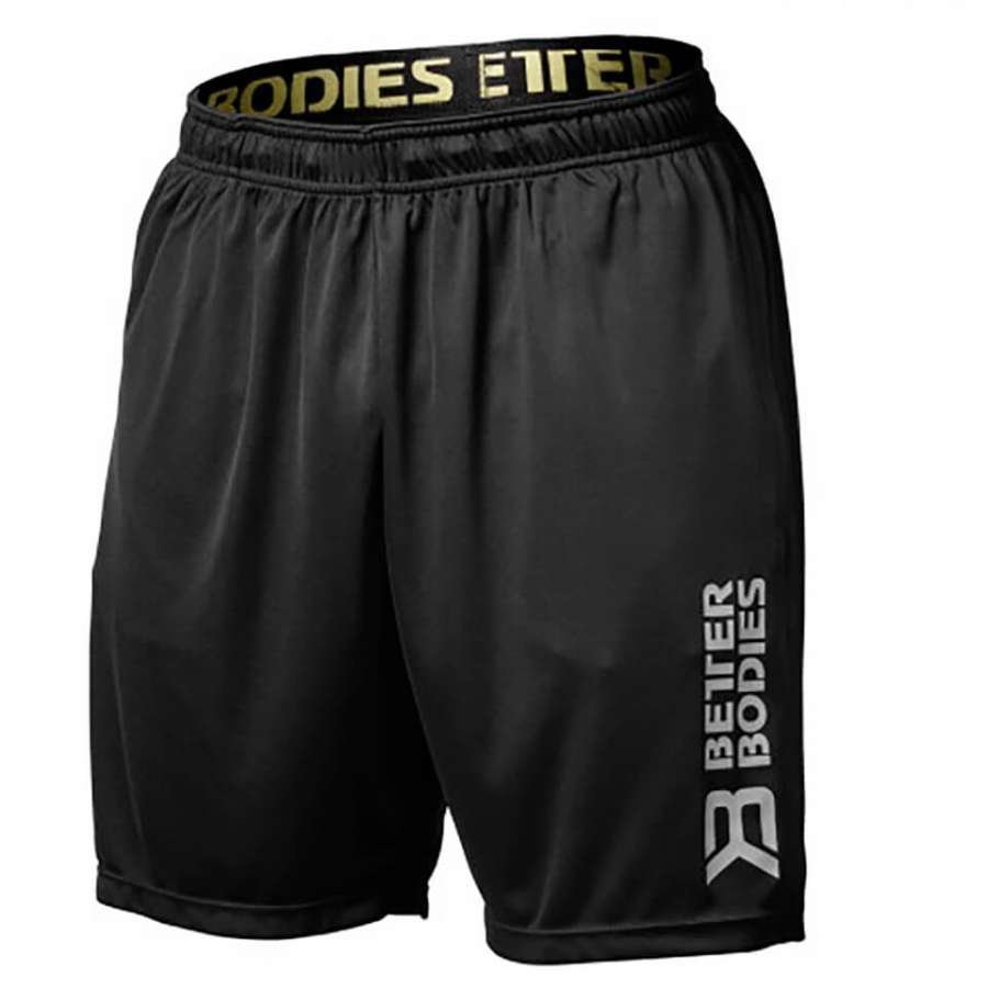 Better Bodies Loose Function Shorts Black XL Musta