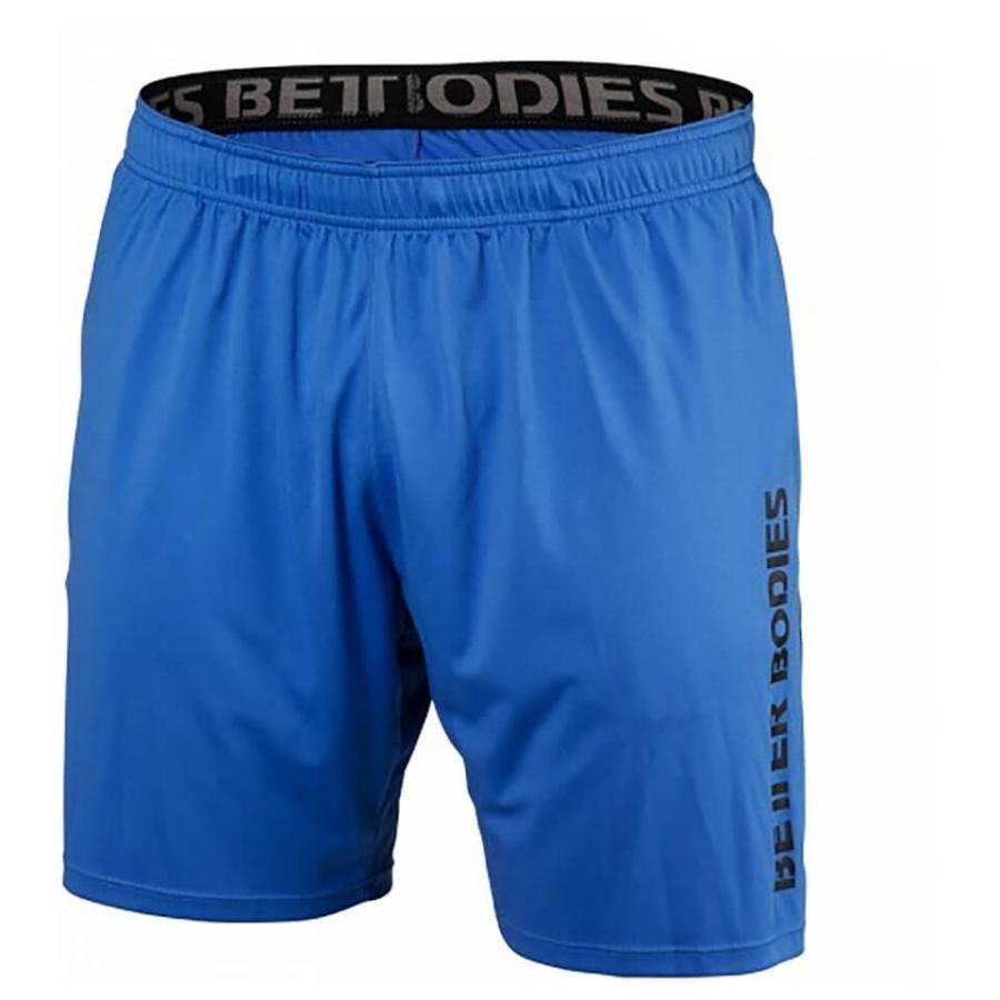 Better Bodies Loose Function Shorts Bright Blue S Sininen