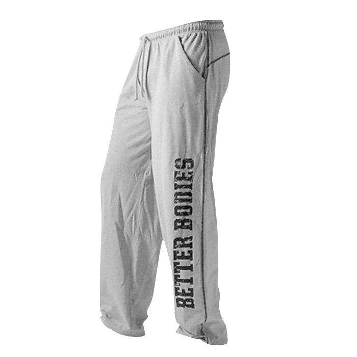 Better Bodies Men´s BB Gym Pants Greymelange