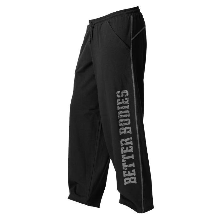 Better Bodies Men's BB gym pant Black L