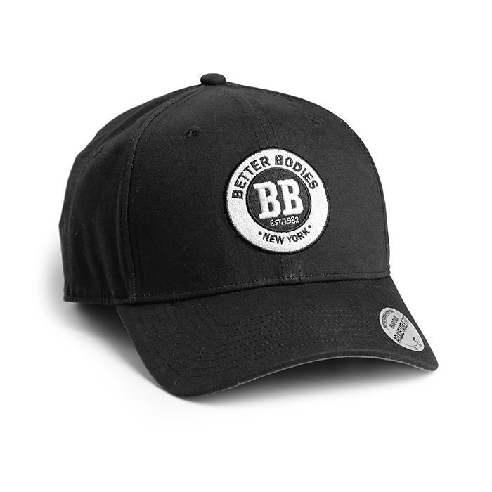 Better Bodies Men's Baseball Cap black/grey