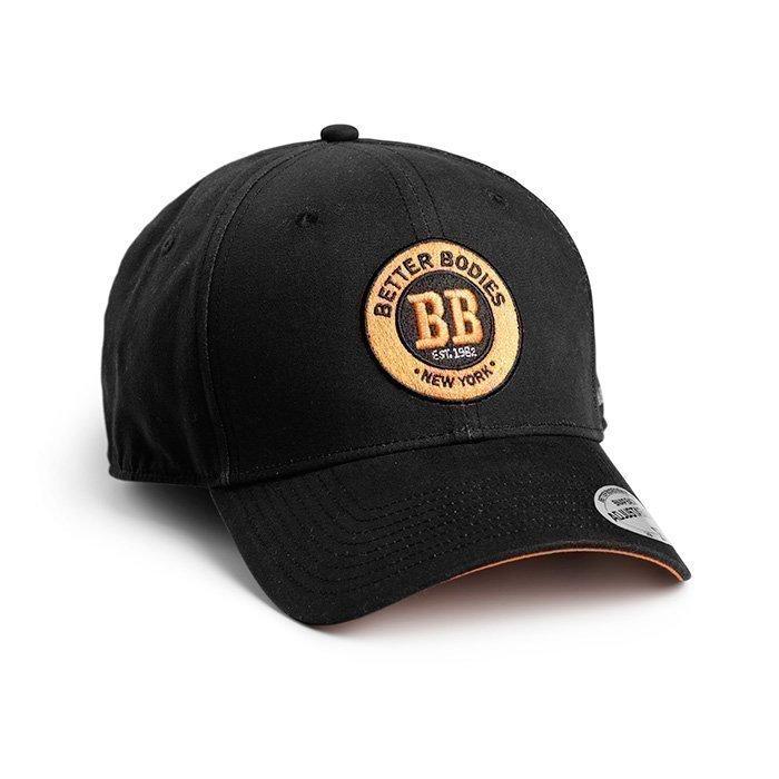 Better Bodies Men's Baseball Cap black/orange
