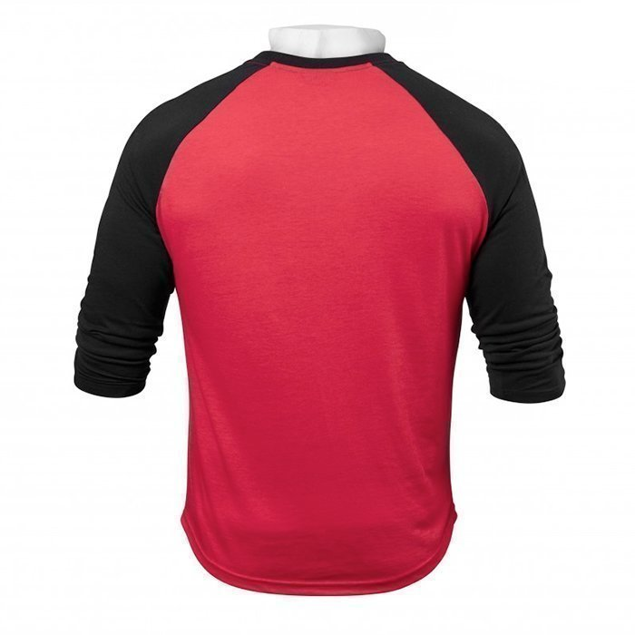 Better Bodies Men's Baseball Tee Bright Red Medium
