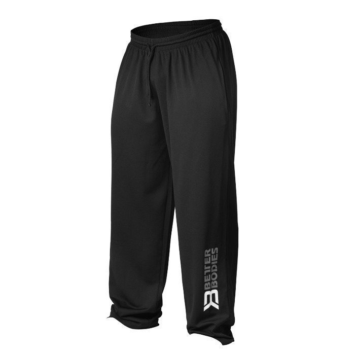Better Bodies Men's Mesh Pant black M