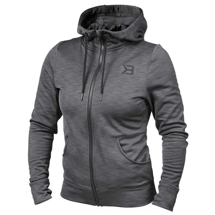 Better Bodies Performance Hoodie Antracite Melange L