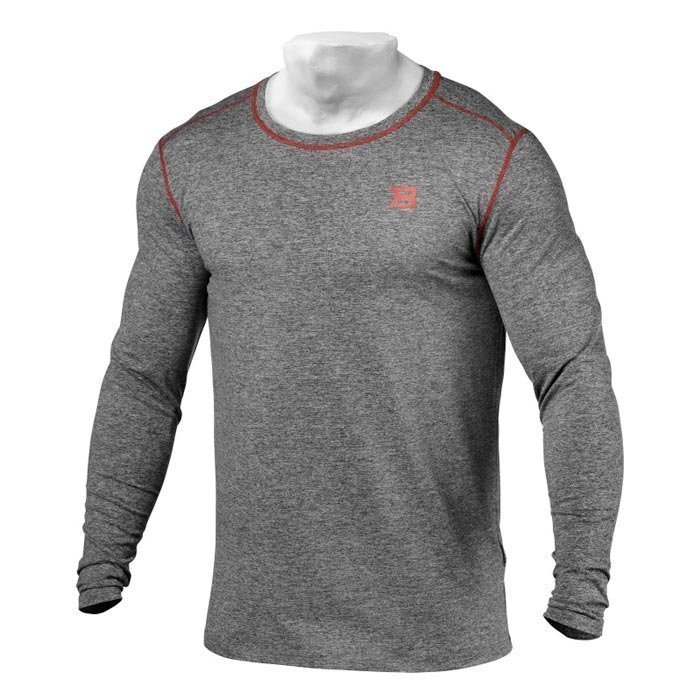 Better Bodies Performance Long Sleeve Antracite Melange XL