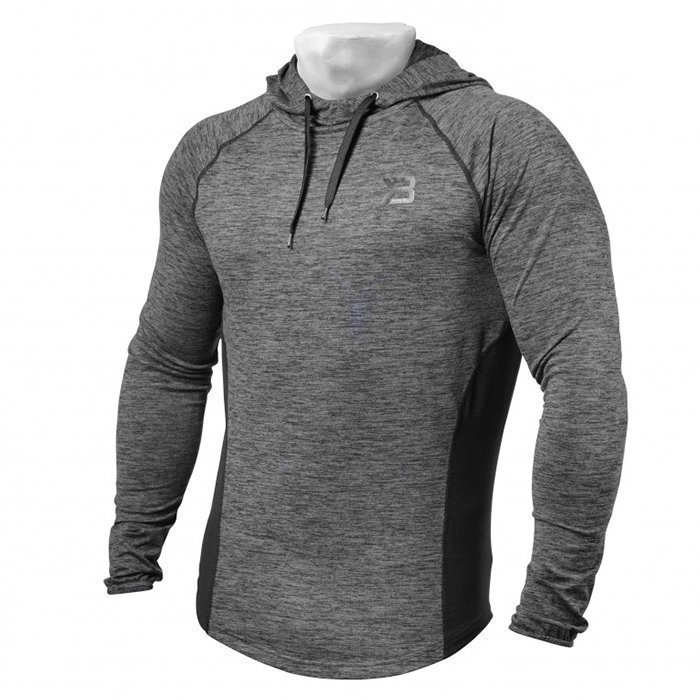 Better Bodies Performance Mid Hood Graph Melange XL