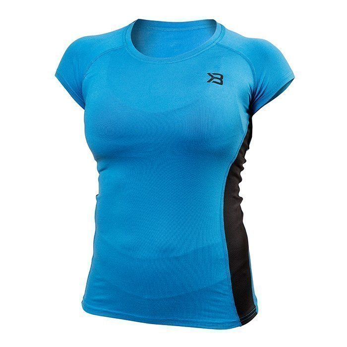 Better Bodies Performance Shape Soft Tee Bright Blue Medium