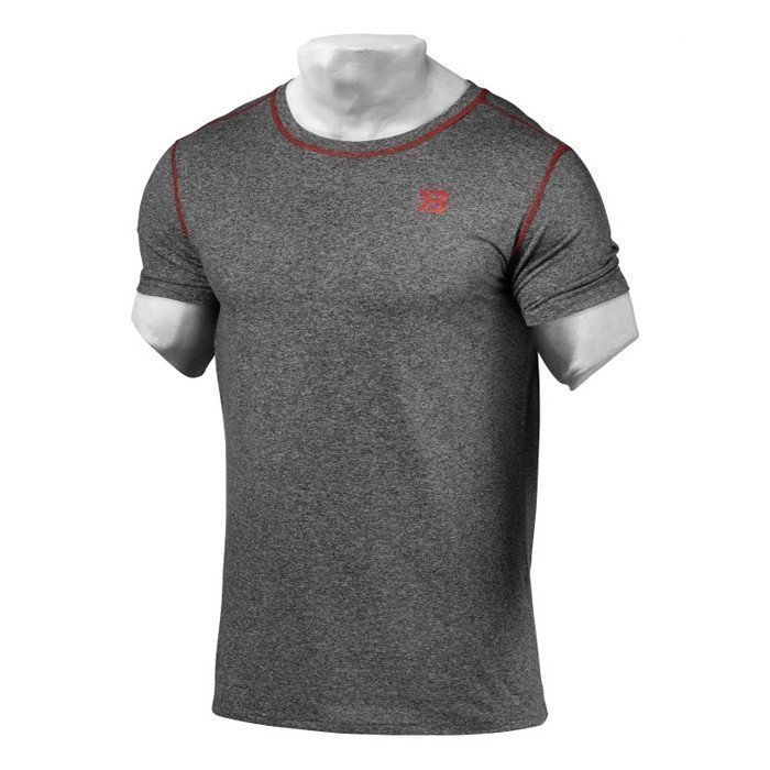 Better Bodies Performance Tee Antracite Melange S
