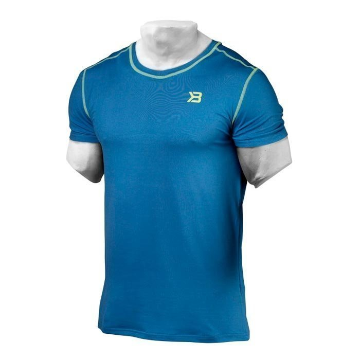Better Bodies Performance Tee Bright Blue L