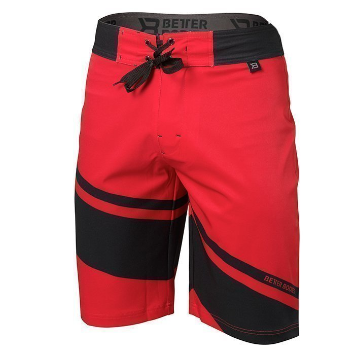 Better Bodies Pro Boardshorts Bright red L