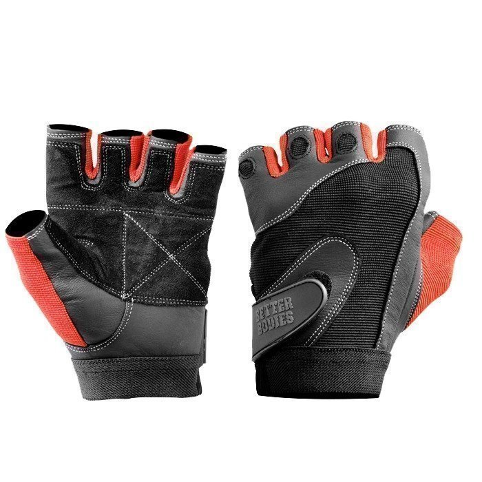Better Bodies Pro Lifting Glove black/red S