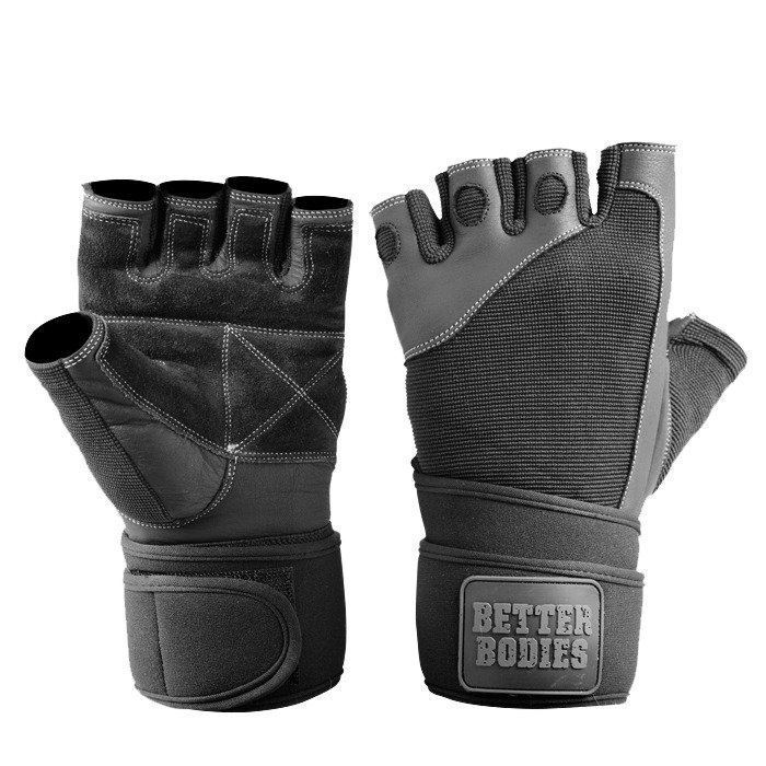 Better Bodies Pro Wrist Wrap Glove black XL