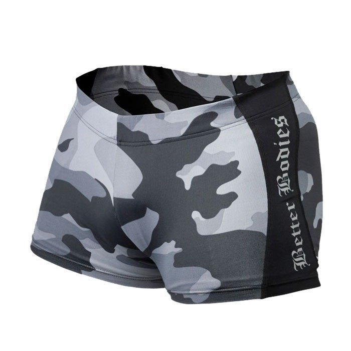 Better Bodies Short Tights grey camo S