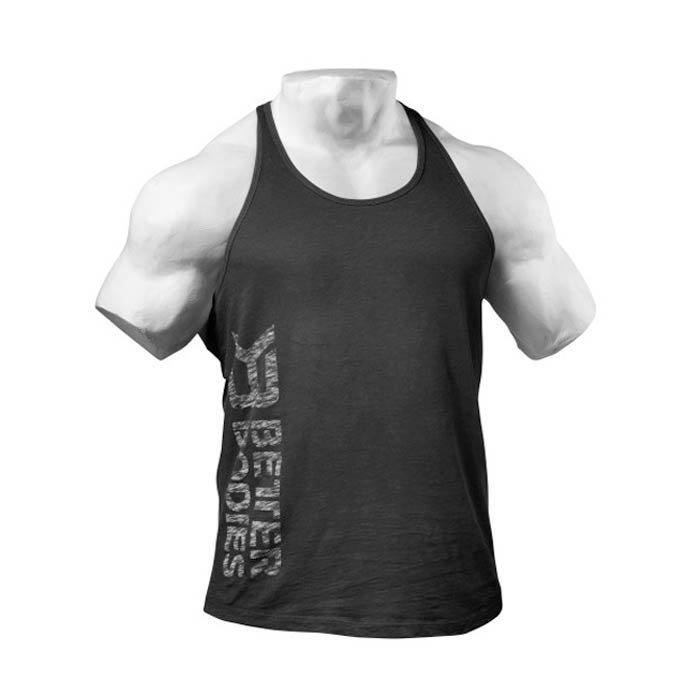 Better Bodies Symbol Printed T-back black