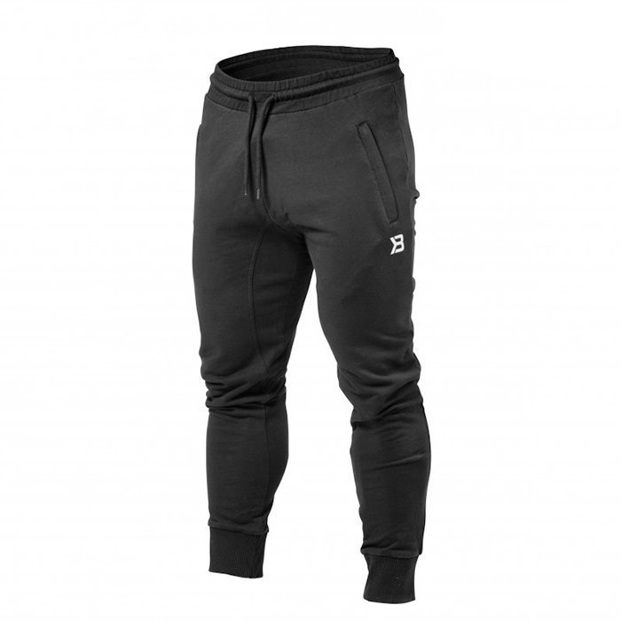 Better Bodies Tapered Joggers Black Medium