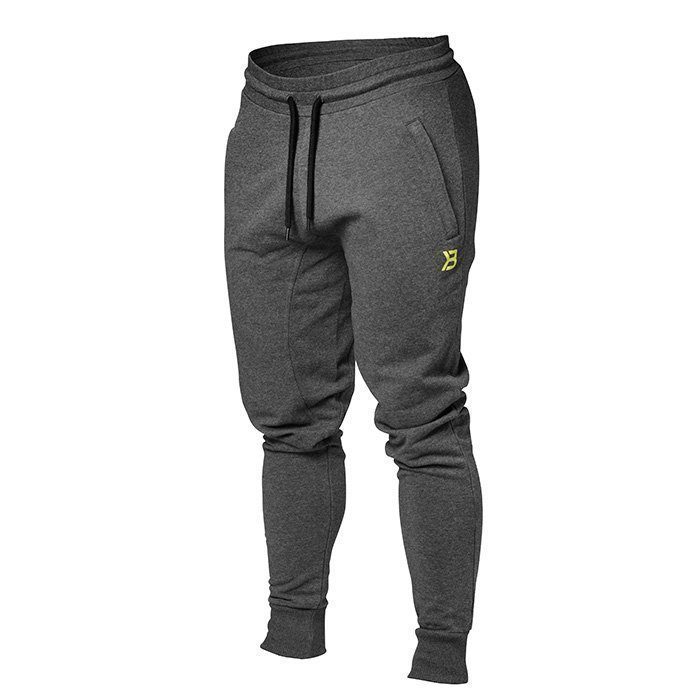 Better Bodies Tapered Joggers antracite melange L