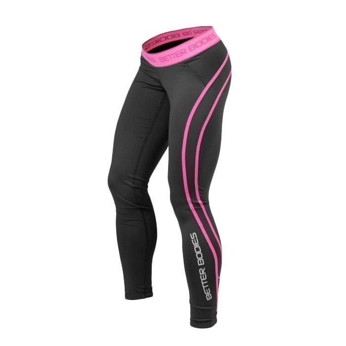 Better Bodies Women's Athlete Tights black/pink