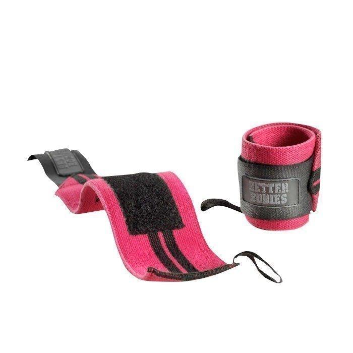 Better Bodies Women's Wrist Wraps hot pink