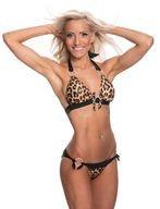 Biancaneve B Fit Bikinin Yläosa Leopardi
