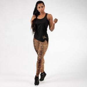 Biancaneve B Lean Legginsit Leopard