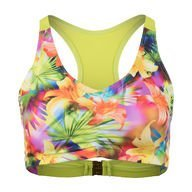 Biancaneve B Sporty Top Floral Lime