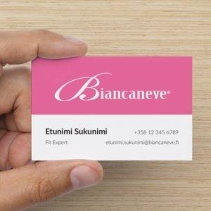 Biancaneve Käyntikortti