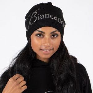Biancaneve Merinovilla Pipo Musta