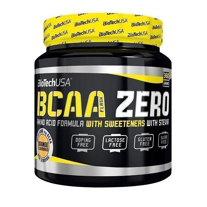 Biotech USA BCAA Flash Zero 360 g Orange