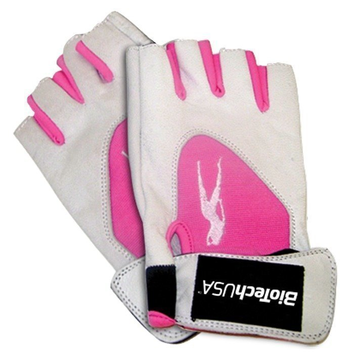 Biotech USA PinkFit Gloves White/Pink Medium