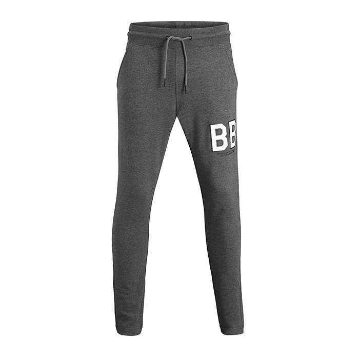 Björn Borg Levin Sweat Pants Anthracite Melange XXL
