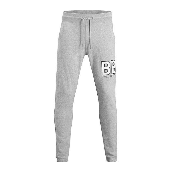 Björn Borg Levin Sweat Pants Light Grey Melange M