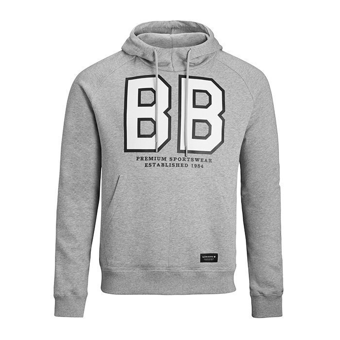Björn Borg Linus Hoodie Light Grey Melange XL